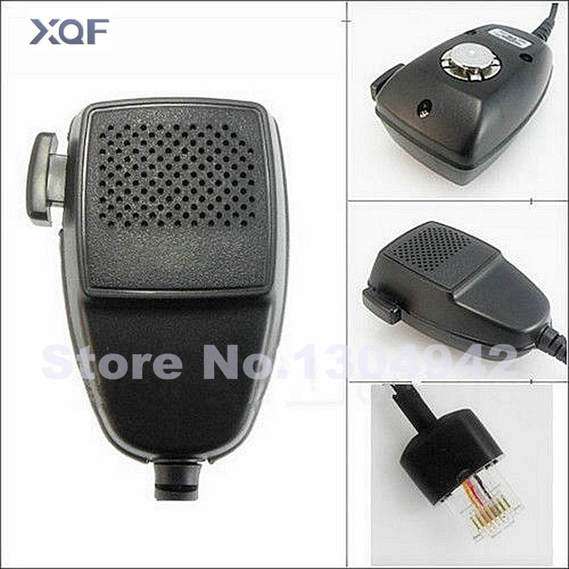Radio 8 pin Speaker Mic Hand <font><b>Microphone</b></font> For <font><b>Motorola</b></font> Walkie Talkie <font><b>GM300</b></font> GM338 CDM750 GM950 Car Mobile Radio HMN3596A image
