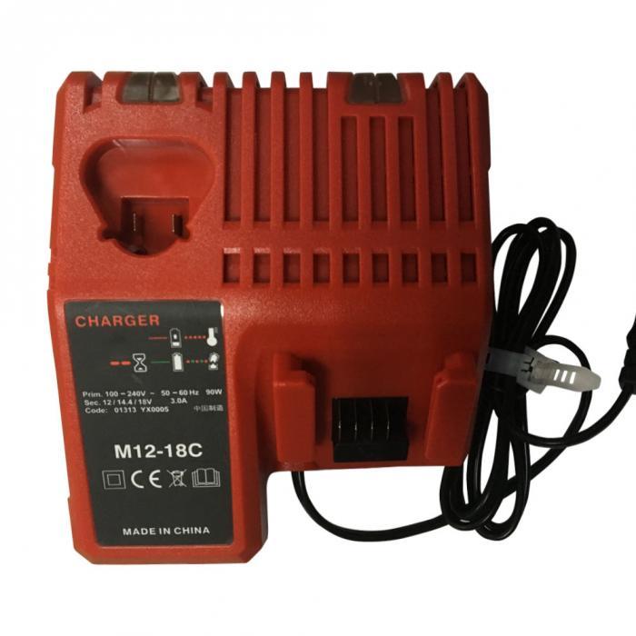 110-240v li-ion carregador de bateria para milwaukee
