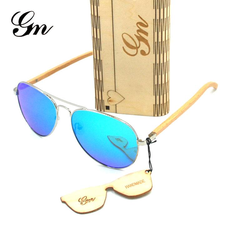 HTB19 E3edrJ8KJjSspaq6xuKpXaT - G M Sunglasses  Women Brand Design Mirror Sun Glasses  Wood Sunglasses