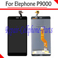Black 100% New Full LCD DIsplay + Touch Screen Digitizer Assembly Replacement For Elephone P9000 LTE Free Shipping