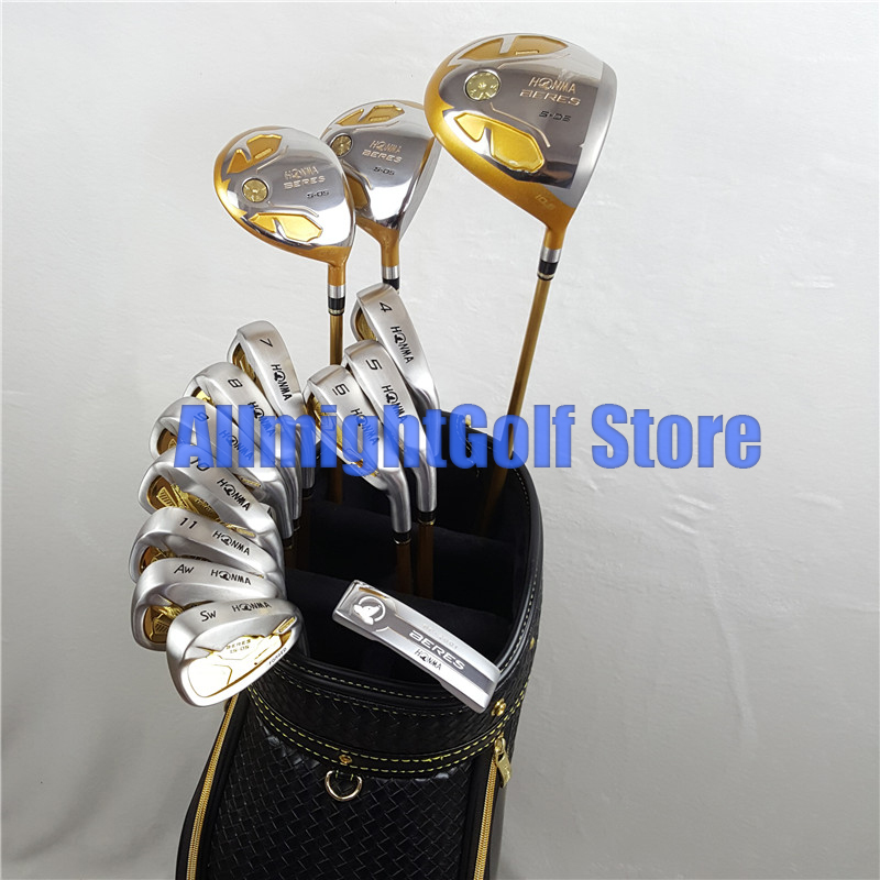 Golf Clubs Honma S 05 Beres 4 Star Complete Clubs Set Golf Driverwoodironsputter Graphite Shaft With Headcover Free Shipping
