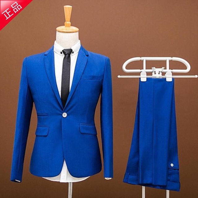 "2017 spring and autumn winter new men ""s dress Korean Slim suit jacket solid color will be leisure suit small male West"