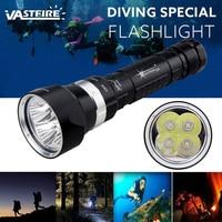 SolarStorm White Light 2000 Lumens Diving Flashlight Tactical 18650 Torch Underwater 100M Waterproof