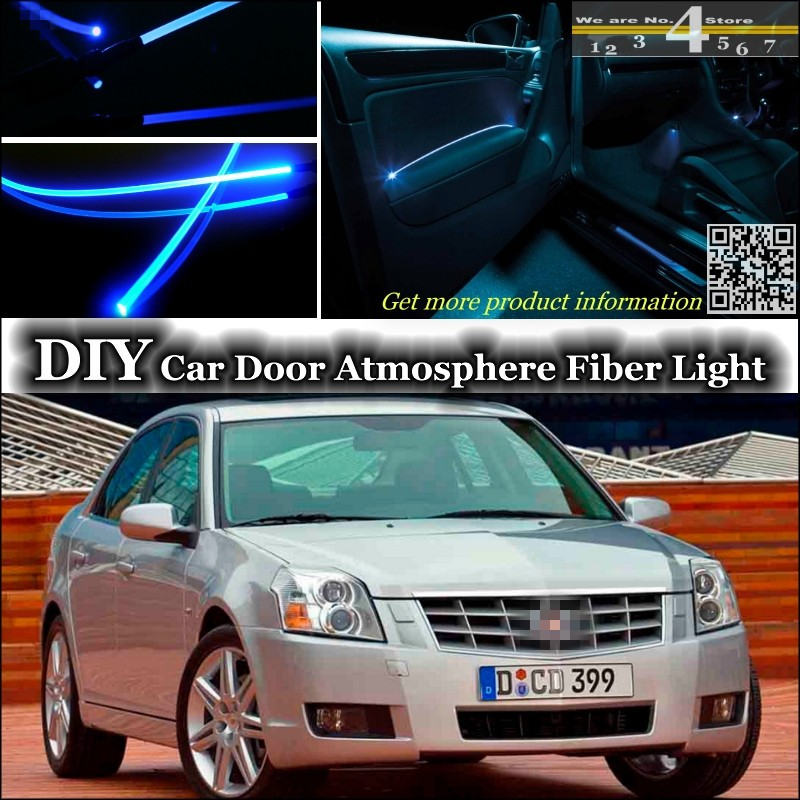 For Cadillac Bls Interior Ambient Light Tuning Atmosphere Fiber Optic Band Lights Inside Door