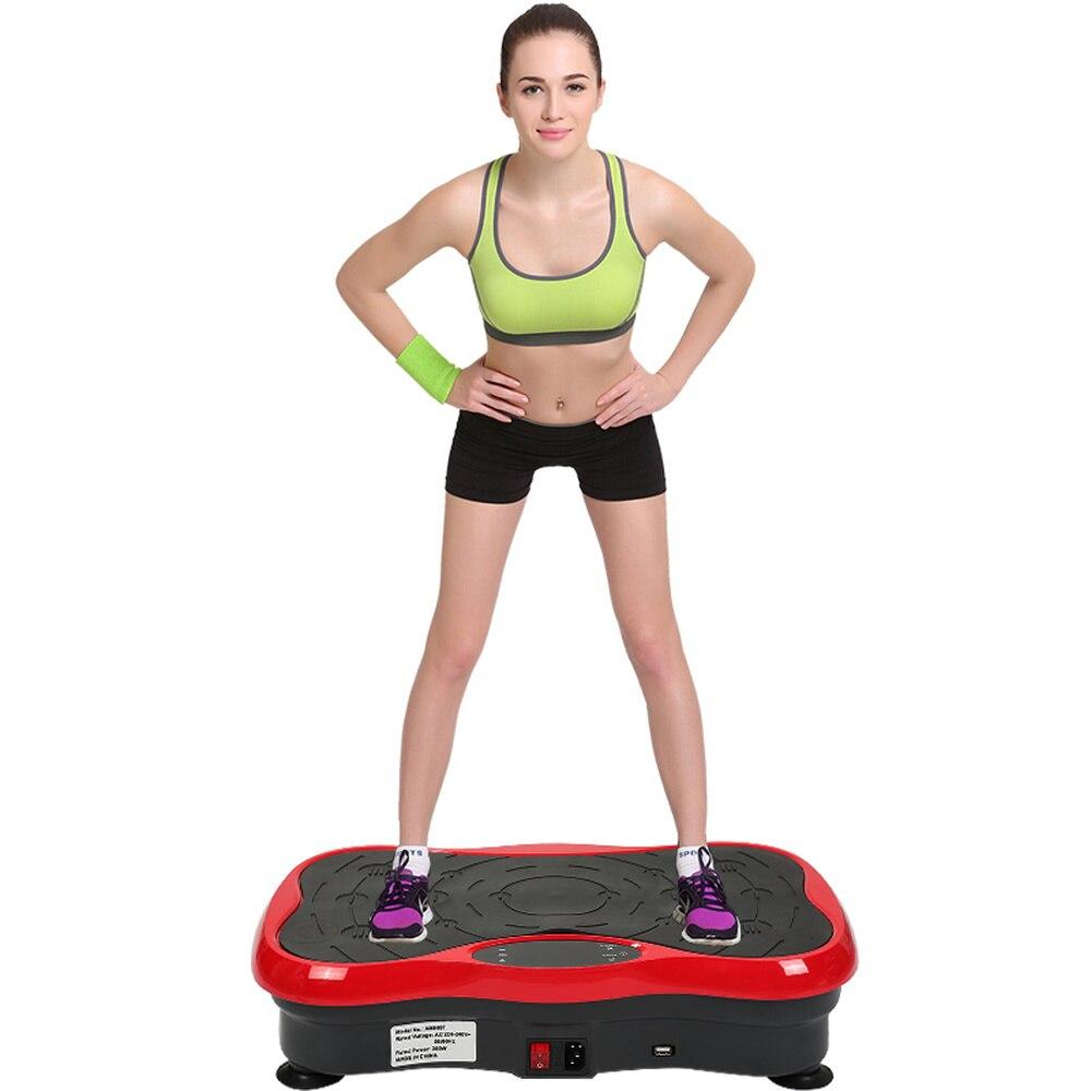 Sport Gym Machines pour La Maison Minceur Combustion Des Graisses Équipement D'exercice de Remise En Forme Musculaire Entraînement Équipement avec Bluetooth Haut-Parleur HWC