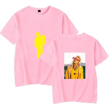 Hip Hop Fashion Brand Clothing KPOP Billie Eilish T Shirt Women/Men 100% Cotton Short Sleeve Funny Tshirt Male/Female Tee Shirt 4