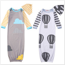 Baby Clothing Sleeping Rompers Baby Newborn Baby Sleeping Rompers Swaddle Blanket Style Knit Kids Cocoon Pod Rompers 0-12 Months