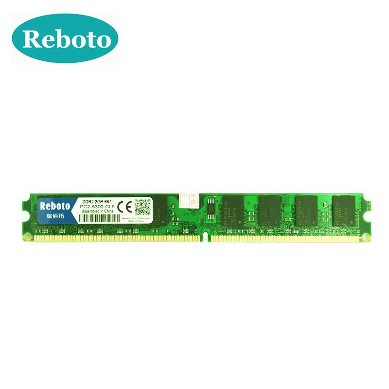RBT computer accessories online Store Reboto DDR2  4GB 2GB ram 800Mhz 667Mhz Work FOR AMD mobo compatible dimm Memory