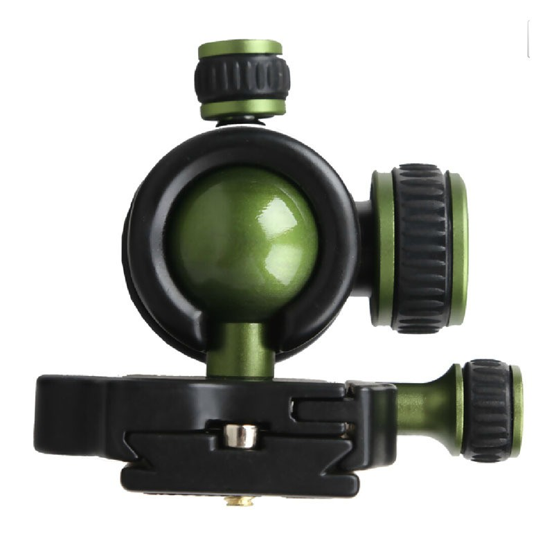 SYS60-Professional-Gimbal-Swivel-Panoramic-SLR-DSLR-Camera-Tripod-Monopod-Ball-Head-Ballhead-with-Quick-Release (2)