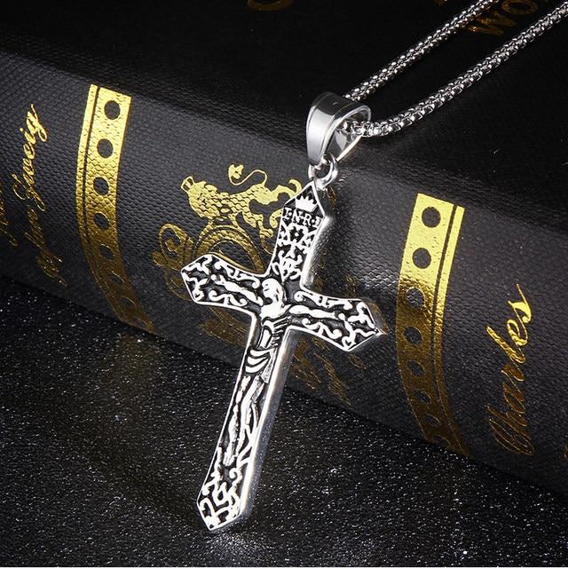 Online shop rir mens gold jesus piece eastern orthodox cross pendant rir mens gold jesus piece eastern orthodox cross pendant in stainless steel male crucifix necklace jewelry aloadofball Gallery