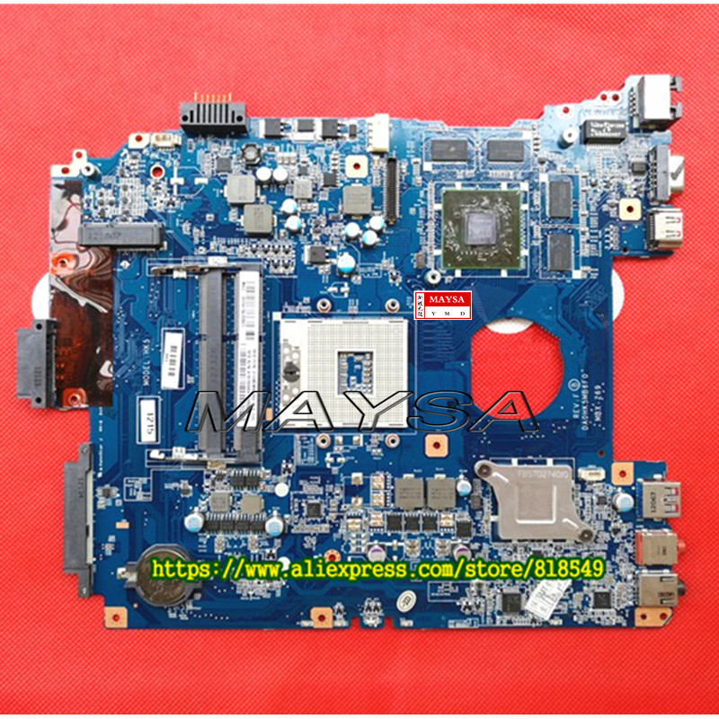все цены на  DA0HK5MB6D0 DA0HK5MB6F0 MBX-269 motherboard fit for sony vaio SVE151D11M SVE151 SVE15 laptop main board HD 7670M 100% tested  онлайн