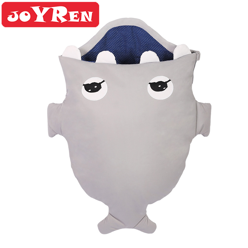 Baby Sleeping Bag by JOYREN Bed Swaddle Blanket Use In Stroller and Car Seats Air-Conditioned Room Summer and Winter Dual Use