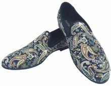 Journey west/Мужская обувь синего цвета с принтом; повседневные