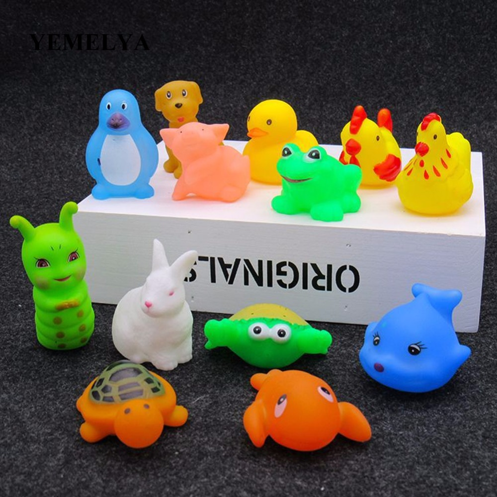 Bathing Water Toys Shampoo Bath Toy Set