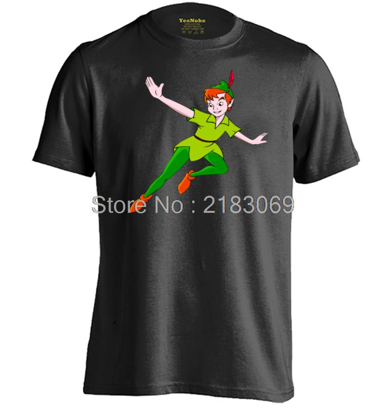 Anime Peter Pan Mens & Womens Personalized Short Sleeve T Shirt
