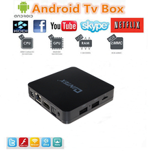 Android TV BOX Amlogic S805 Quad Core Android 4 4 Kitkat, google android4 4  4K Media player with set top box 1GB RAM 8GB ROM