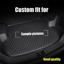 RKAC ajuste Personalizado para mat tronco à prova d' água para Land Rover Todos Os Modelos Esporte Faixa Evoque Freelander carro stickres