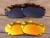 Marrón y Rojo Fuego 2 Pares de cobre Marco de Gafas de sol Polarizadas Lentes De Repuesto Para Quijada Ventilación 100% UVA y Uvb
