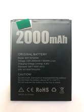 Original New Doogee X50 Battery 2000mAh Polymer Li-ion 3.8V Batteries For Phone BAT18702000