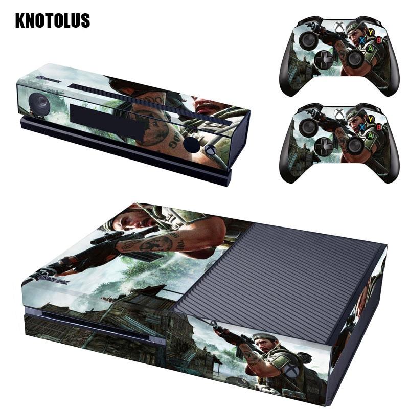 Call of duty кожи винила Стикеры чехол для Xbox ONE контроллеров консоли защитная пленка наклейка для microsoft Xbox One геймпад