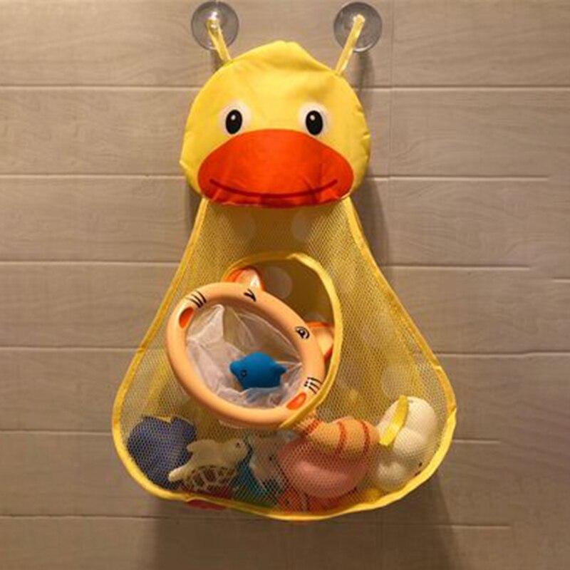 Bath Toys Baby Kids Bathroom Storage Bag Net Organizer Waterproof ...