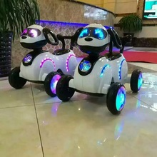 Space dog children's Electric Motorcycle Tricycle Battery Car with Music Kids Ride on Tricycle