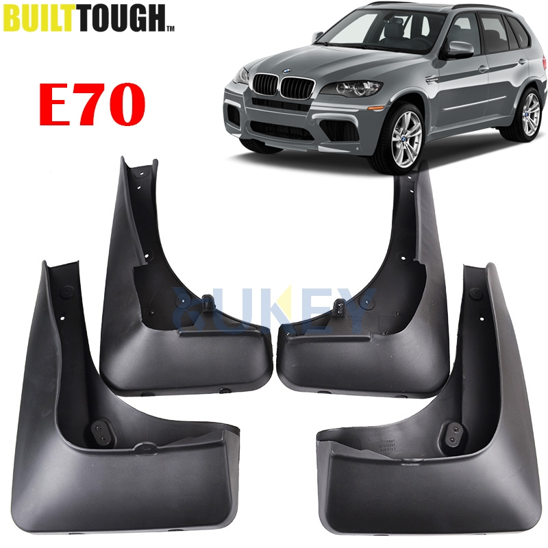 FRONT REAR MUDFLAPS FIT FOR BMW X5 E70 2007 2013 ACCESSORIES MUD FLAP FLAPS SPLASH GUARD