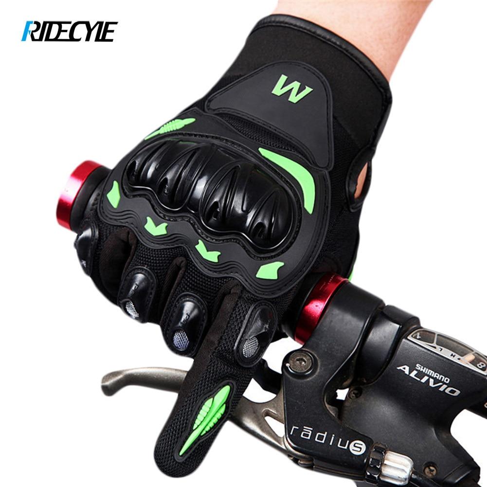 RIDECYLE Radfahren Handschuhe Voll Finger Gel Motorrad MTB Rennrad Fahrrad Reiten Handschuhe Gants Velo Guantes Luva Ciclismo