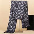 Nueva 5 colores bufanda deportes hombres mantener caliente de la borla de invierno Británico hombres bufandas con a cuadros de algodón suave de imitación de la cachemira silenciador