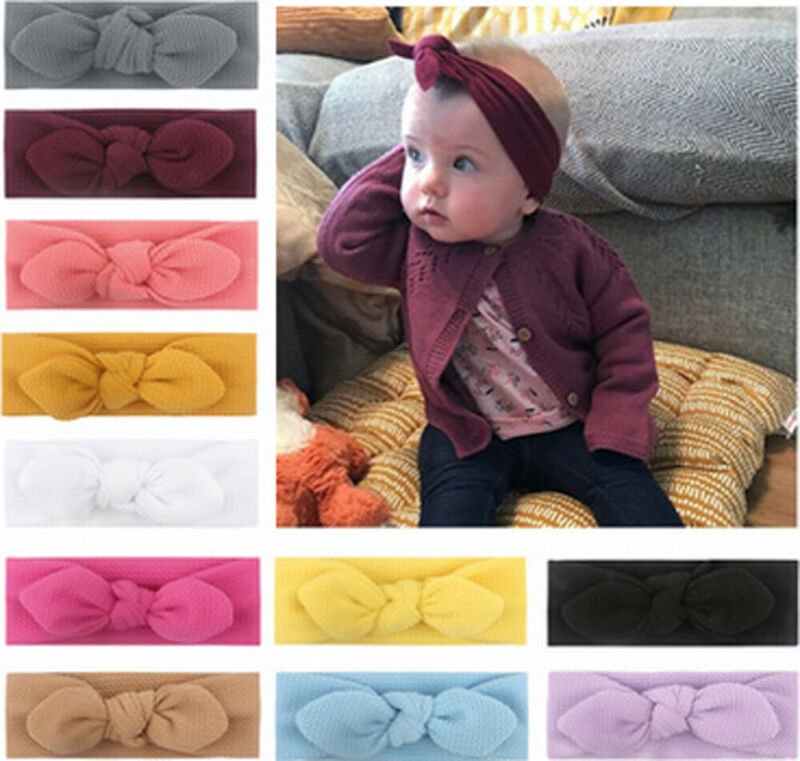 Rabbit Girl Toddler Bow Hair Band Kid Headscarf Headband Accessories Headwear