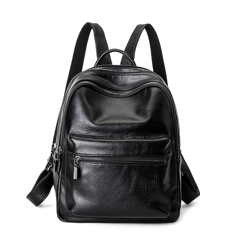 Preppy Style School Bag Backpack For Students Girls Large Capacity Shoulder Bag Fashion Leather Backpacks цена и фото