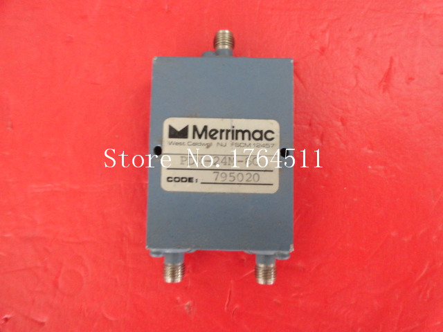 [BELLA] MERRIMAC PDM-24M-6G 2-8GHz A Two Supply Power Divider SMA