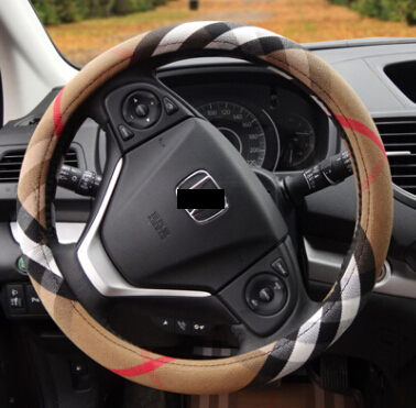 2016 Car Interior Accessories Car Covers Fabric White Car Steering Wheel Covers For Girls Man