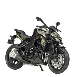 Image 3 - Welly 1:18 Kawasaki NINJA ZX10 RR Z1000R 2017 Diecast motocykl