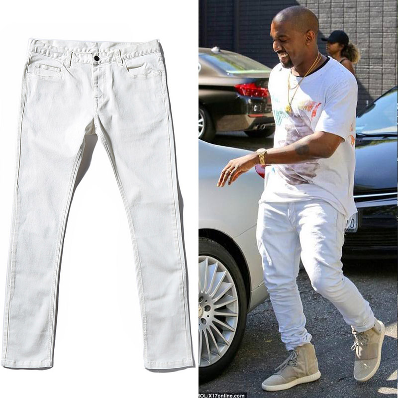 Absolutely High Quality Kanye West 1 1 Design Fear Of God Jeans Rockstar Biker Justin Bieber