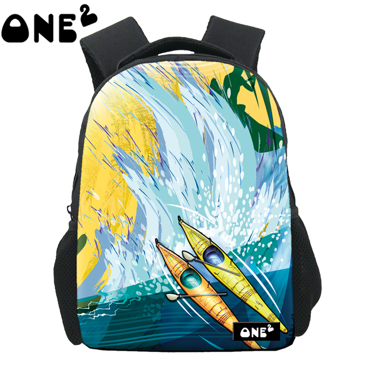 dcf3fc9f765e ONE2 Design pattern printing famous brand ladies fancy backpack extreme  backpack kids school bag free shipping-in Backpacks from Luggage   Bags on  ...