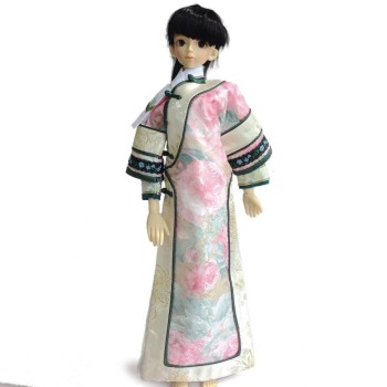[wamami] 699# Chinese Classical Chi-Pao/Cheongsam Dress 1/3 SD BJD Dollfie Suit