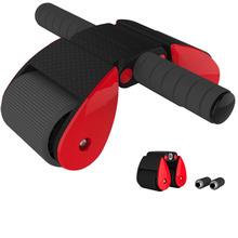 JUFIT Folding Abdominal Wheel Multi Function Muscle  Double Fitness Exercise Sports Equipment Home Device