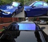 99% UV Proof Nano Ceramic Window Film Wrap Car Clear Glass Chameleon Color Self adhesive Stickers Decorate Vehicle 0.5x5m