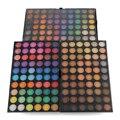 Fresco Bonito 180 Completa Cores Sombra Mineral Cosmetics Make Up Pro Kit de Maquiagem Pigmento Da Sombra de Olho Paleta Shimmer Natural de Um +