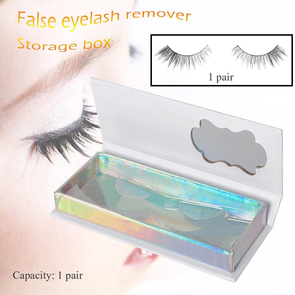 1pcs New Eyelash Storage Empty Box False Eyelash Care Storage Case Box Container Holder Compartment Tool Eyelash Storage Box Back To Search Resultsbeauty & Health