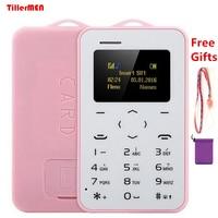 AEKU C6 Cartoon Kid Girl GPRS Vibration Bluetooth 2 0 Small Size Mini Ultrathin Credit Card