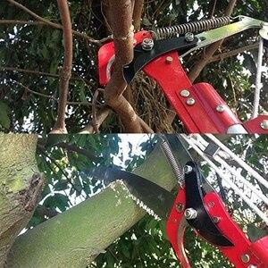 Image 3 - Wysuwane narzędzie do przycinania nożyczek wysoka gałąź drzewa Lopper nożyce na dużych wysokościach zbieranie owoców ogród trymer piła gałęzie frez