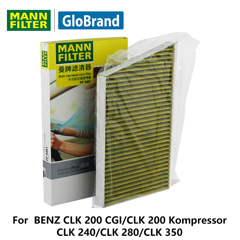 MANNFILTER Premium car Cabin Filter FP3461 for BENZ CLK 200 CGI/CLK 200 Kompressor/CLK 240/CLK 280/CLK 350 auto parts