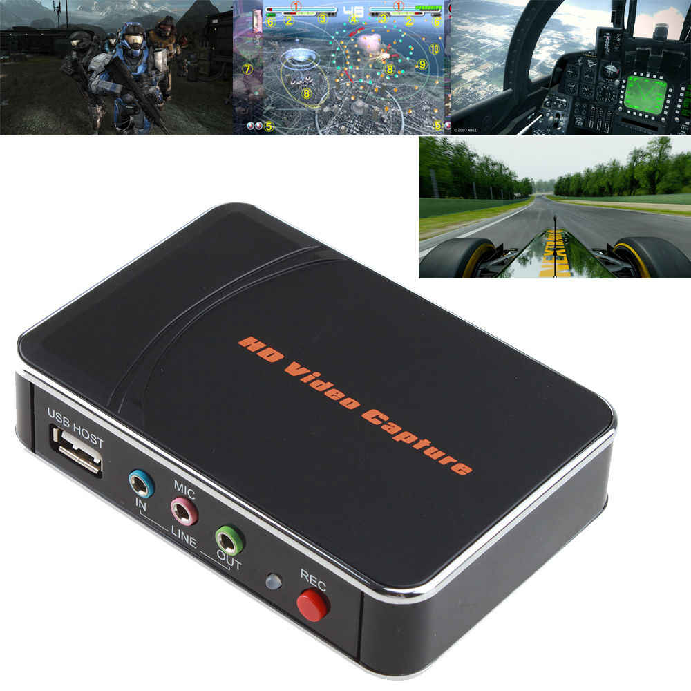 Ezcap HD Permainan Menangkap Kartu HD Video Capture 1080P HDMI/Y PB PR Perekam Video untuk Xbox 360 Xbox One/ PS3 PS4/ Wii U Tidak Ada Set-Up