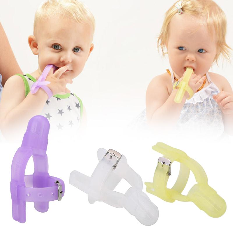 Baby Children Thumb Sucking    Stop Stop Nontoxic Silicone Finger -3731