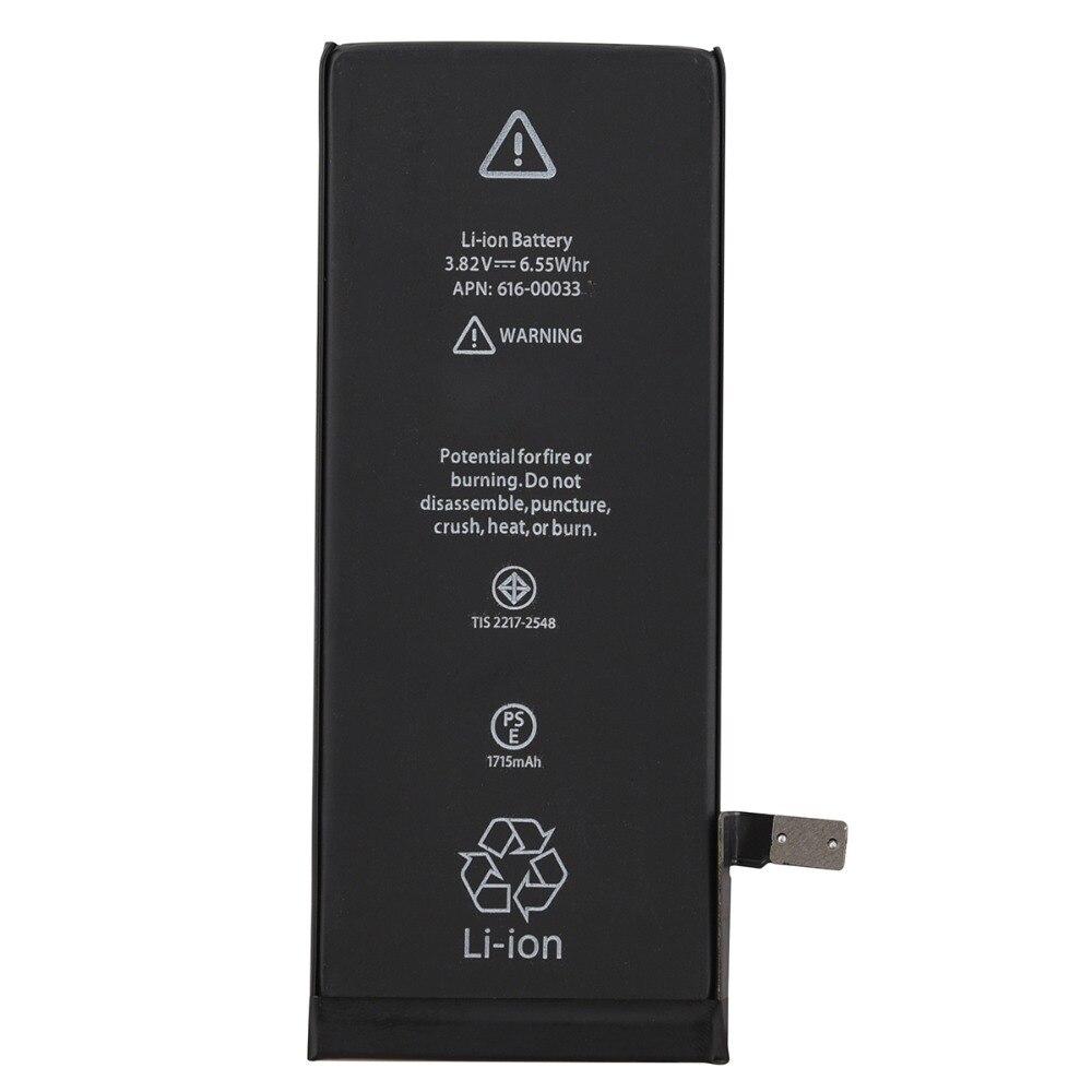2018 AAAAA Qualität Eingebaute Lithium-Batterie Für iPhone 6 S Ersatz Akkumulator 1715 mAh Batterie Für Iphone 6 s Mobile telefon