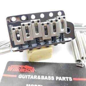 Image 2 - ווילקינסון 6 בורג סוג ST גיטרה חשמלית טרמולו מערכת גשר לstrat גיטרה כרום כסף WOV02