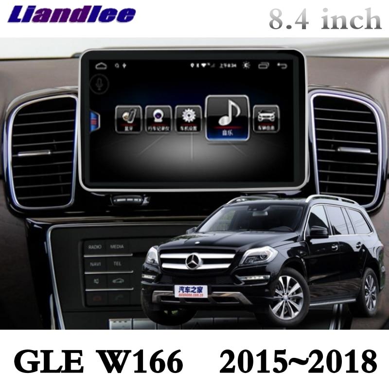 For Mercedes Benz MB GLE M ML Class W166 2015~2018 Liandlee Car Multimedia Player NAVI Car Radio Accessories GPS Navigation 3
