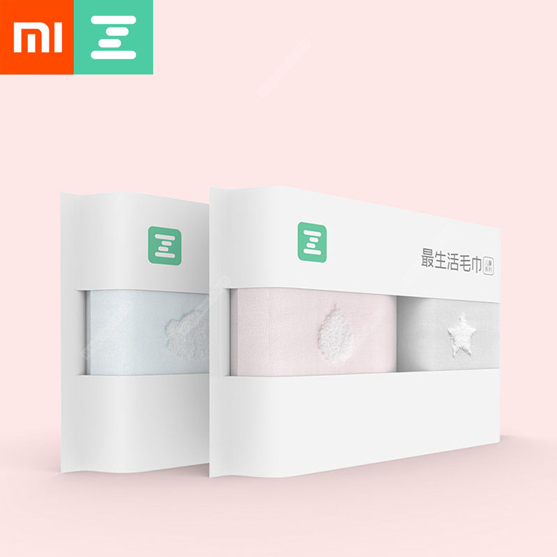 US $10 66 15% OFF Xiaomi ZSH Children Towel Polyegiene Antibacterical  Series 100% Cotton Soft 3 Colors Highly Absorbent Kid Bath Face Hand  Towel-in